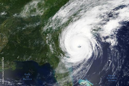 Valokuva  Hurricane Dorian lashes the Carolinas in August 2019 - Elements of this image fu