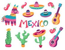 Mexican Festival Art Vector