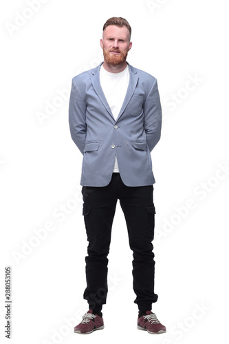 Fotografie, Obraz  modern business man. isolated on white background
