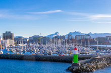Small Boats In Bodø Harbour S...