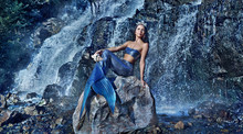 Wide Picture With The Mermaid ...