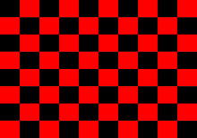 Abstract Red And Black Geometric Background