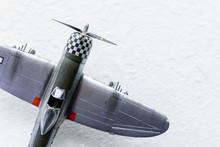 プラモデルの戦闘機
