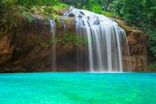Prenn Waterfall. Beautiful Prenn Waterfall In Vietnam