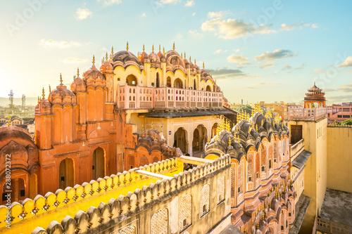 Fotografia Hawa Mahal (Palace of the Winds) in Jaipur, india