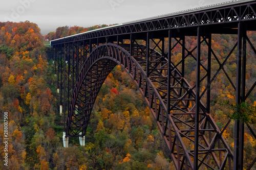 Fotografie, Obraz New Rver Gorge Bridge in West Virginia