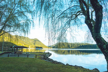 Picnic Area By The Lake
