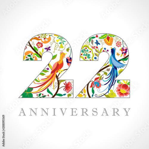 Fotografia  22 years old logotype