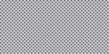 Black White Carbon Fiber Square Background. Modern Abstract Texture