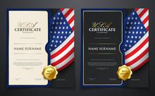 Set Of Patriotic Achievement C...