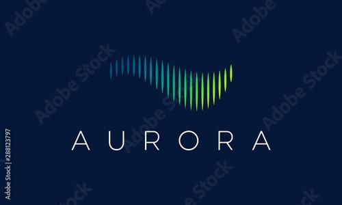Obraz Aurora Logo - fototapety do salonu
