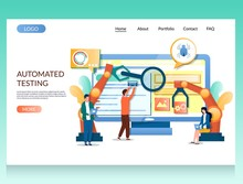 Automated Testing Vector Websi...