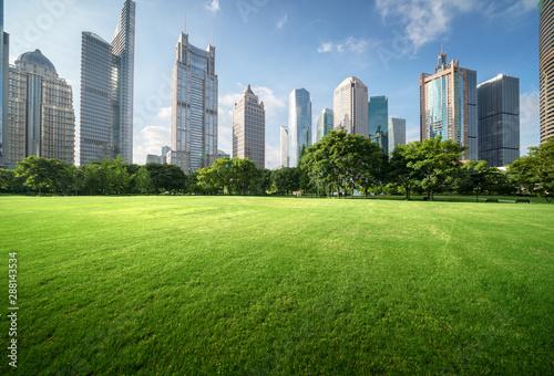 Fotografía  Green Space, Lujiazui Central, Shanghai, China