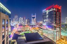 Nashville, Tennessee, USA Down...