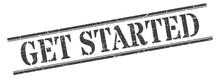 Get Started Stamp. Get Started...