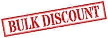 Bulk Discount Stamp. Bulk Disc...