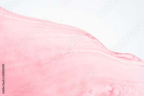 Türaufkleber Makrofotografie Alcohol ink. Style incorporates the swirls of marble or the ripples of agate. Abstract painting, can be used as a trendy background for wallpapers, posters, cards, invitations, websites.