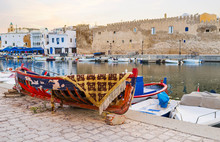 The Old Wooden Boat In Bizerte...