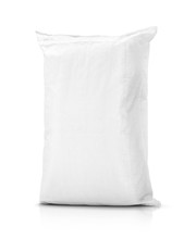 Sand Bag Or White Plastic Canv...