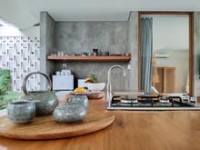 Modern Open Kitchen In Luxury ...