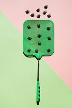 Close Up Of Fly Swatter