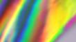 canvas print picture Holographic foil background. Rainbow gradient. Dynamic motion