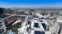 A Vegas Aerial From Atop The H...