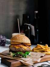 Mouth-watering Burger