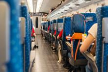 Inside Train In Japan