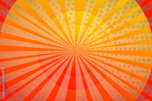 Orange Abstract Sun Sunset Light Yellow Sky Wallpaper