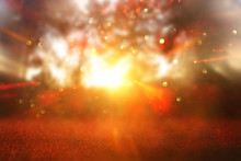 Abstract Background Of Light B...
