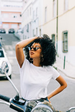 Young African American Woman W...