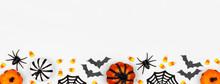 Halloween Bottom Border Banner...