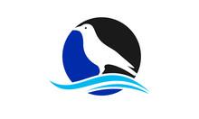 Bird Logo Template Vector Icon, Flying Bird Dove Logo, Swallow Icon, Little Bird Social Logo Design Inspiration Vector, Flying Birds Sign. Bird Logo Template Vector Icon, Bird With Circle Logo Design