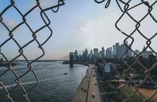 New York City Skyline From Manhattan Bridge
