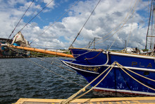 Tall Ship Bowsprit And The Mid...