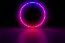 Colored Luminous Geometric Sha...