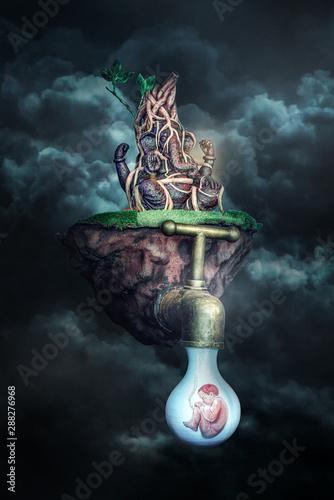 Photo  Social Message Ganesha