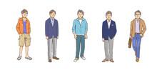 男性 ファッション ...