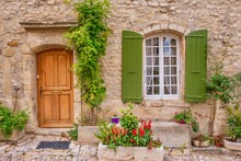 Street View Of Quaint French P...