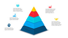 Vector Abstract Pyramid For In...