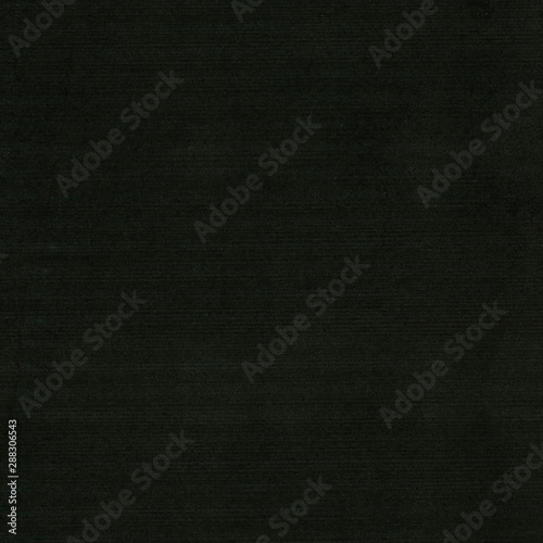 black corrugated cardboard texture background Fotobehang