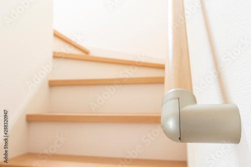 新築住宅の階段の手すり Fototapet