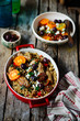 one-pot greek oregano chicken and orzo with tomatoes