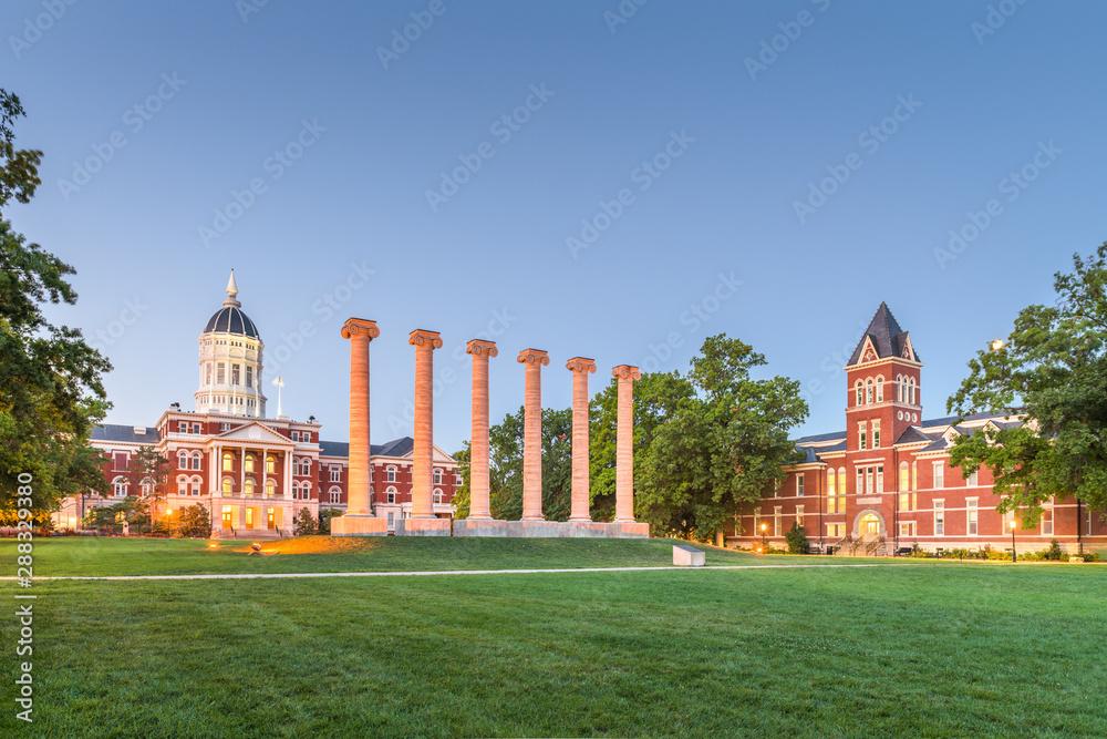 Fototapeta Columbia, Missouri, USA
