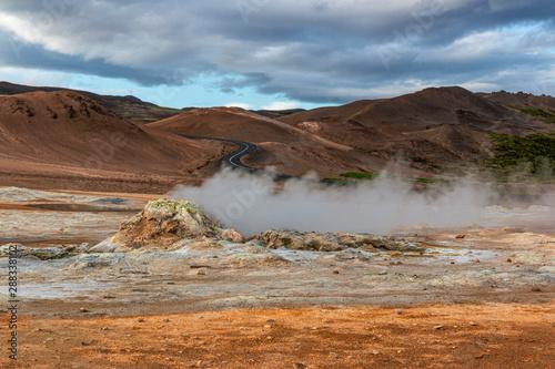 obraz dibond sulfur field iceland