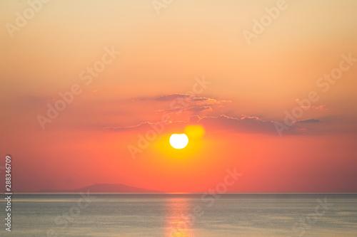 Foto auf AluDibond Koralle Sunrise over the Black Sea