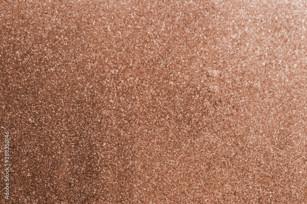 Fototapety, obrazy: The surface of the copper sheet.