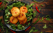 Thai Food Spicy Fish Cakes Ser...