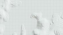 3D Cartography Concep Backgrou...
